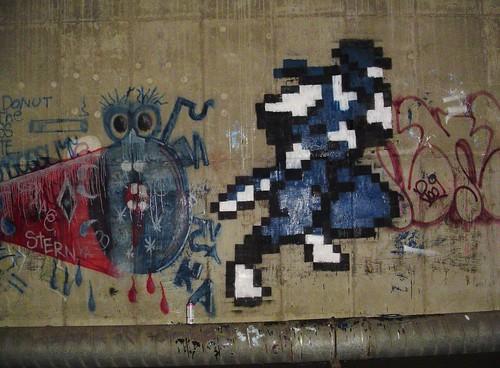 ninja gaiden graffiti