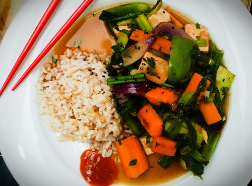 Tim's Magic Tofu Stir Fry
