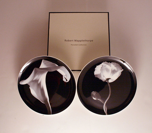 mapplethorpe porcelain plates