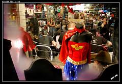 Dragnun (Joey K!) Tags: music woman hot halloween window mall wonder store costume guitar live performance front 09 horror acoustic monstrosity fest 2009 tb topic lucian blitzkid renfield gibby kristopher horrorfest dandridge dragnun