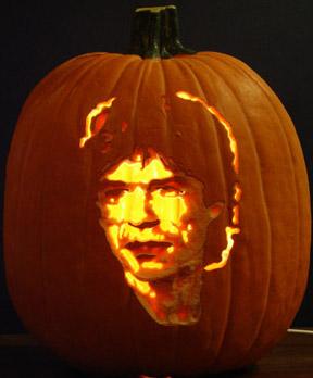 calabaza Mick Jagger