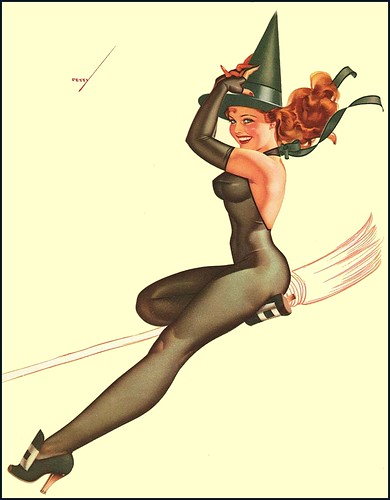 petty witch pinup