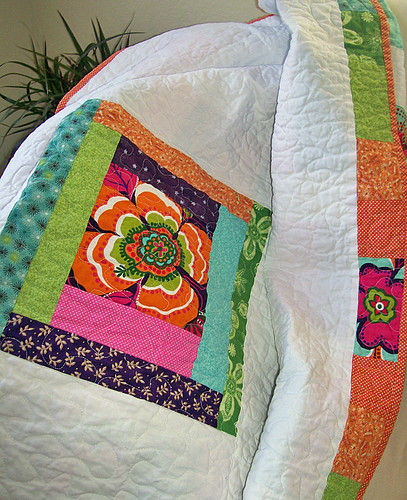 coin quilt back