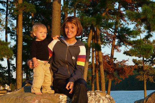 Jack & Jessa at sunset