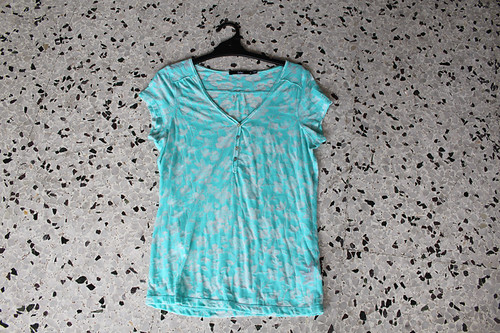 sportsgirl light turquoise shirt