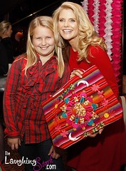 Christie Brinkley and Daughter Sailor at the Tea Party Angels Launch in NYC