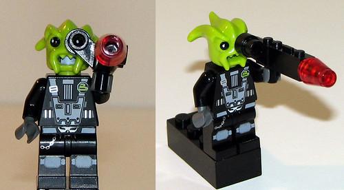 LEGO Space Police 5981 - Raid VPR - Minifigs 2