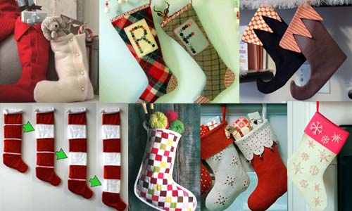Christmas Stockings to Sew