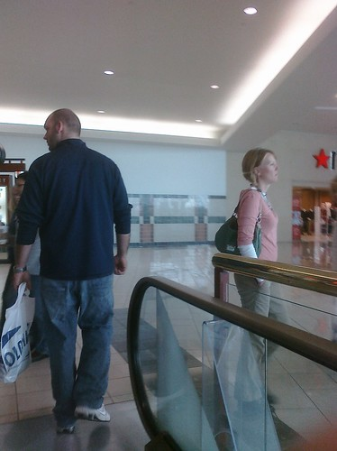 Ptw Michelle and her husband Clay at mall