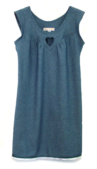 Dolly dress chambray