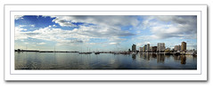 Panoramic View (Harbor Square, Manila Bay) (Gilbert Rondilla) Tags: camera sea sky panorama seascape reflection building nature water skyline clouds point polaroid boats bay boat photo shoot yacht pano ships philippines panoramic manila gilbert filipino digicam notmycamera own pinoy borrowedcamera pns harborsquare manilayachtclub rondilla i733 notmyowncamera polaroidi733 gilbertrondilla gilbertrondillaphotography luisianian polaroid7mpdigitalcamera
