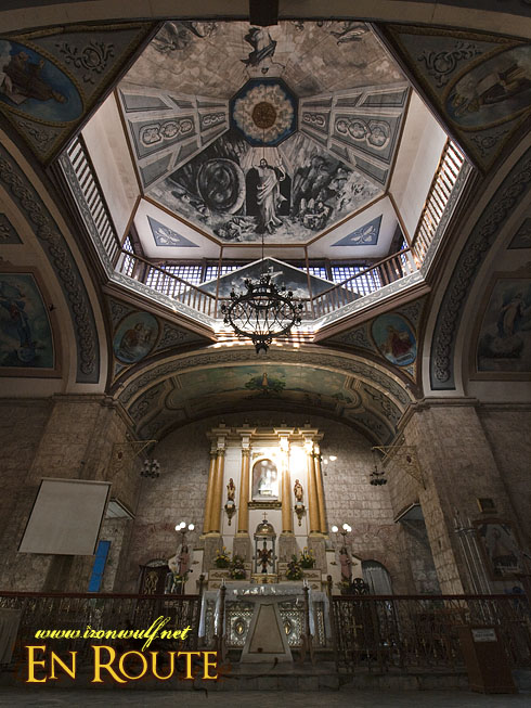 Taal Town Caysasay Ceiling and Altar