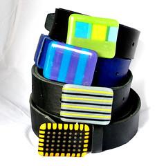 Glass + leather belt (boldcolorglass) Tags: belt leatherbelt