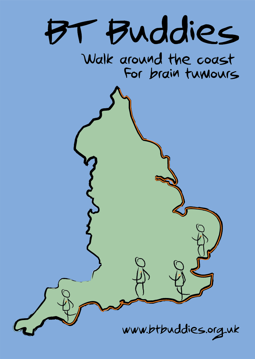 Walk around the coast logo