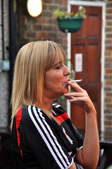 (Bob the Binman) Tags: beer girl female pretty cigarette cider blonde attractive usc smoker camra drinkers ticker scooper festival real nikon ale d90 egham