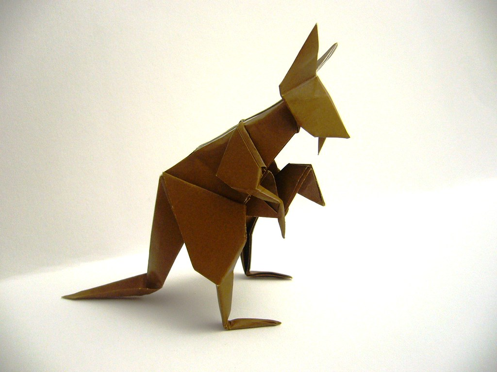 origami kangaroo 28 images the world s most recently