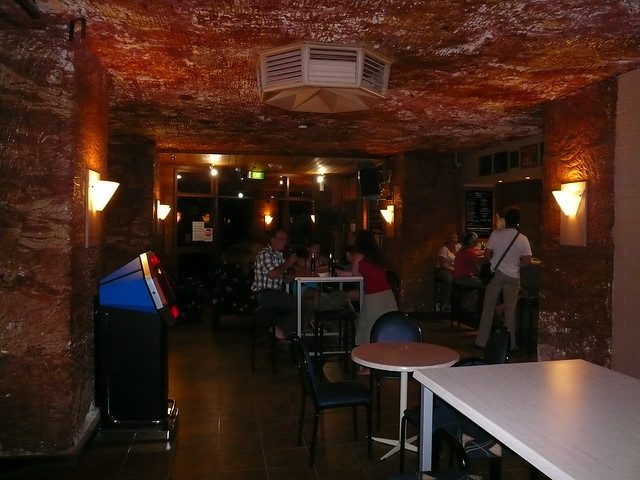 Outback Trip - Coober Pedy Cave Bar