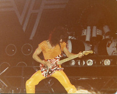 Van Halen 1980 (Taylor Player) Tags: white david black alex rock les ball roth paul drums lights star michael concert brothers bass guitar live stripes stage band peavey amp rude siblings marshall destroyer fender lee 80s yamaha 70s anthony roll eddie drumming van 1970s ernie 1980s gibson strat halen drummers ludwig kramer cymbals danelectro wolfgang ibanez ampeg medals charvel paiste