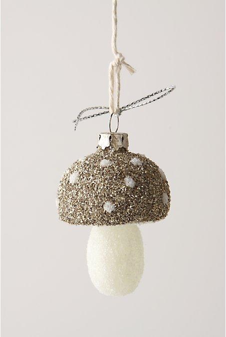 anthro mystic mushroom ornament
