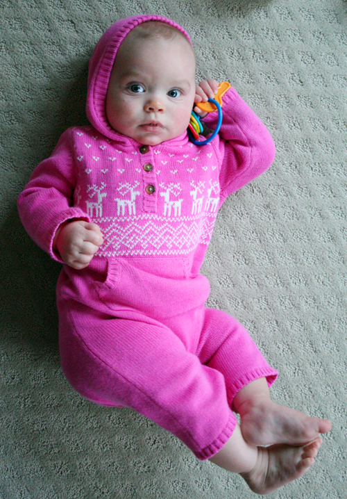 Winter romper