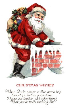 christmas postcard 4