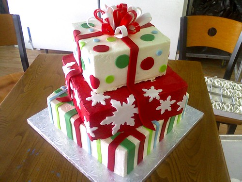 Cakes for christmas gift