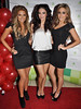 Sarah Kavanag, Georgia Salpa and Nadia Forde at the Assets Model Agency Christmas Party 2009 at Krystle Night Club