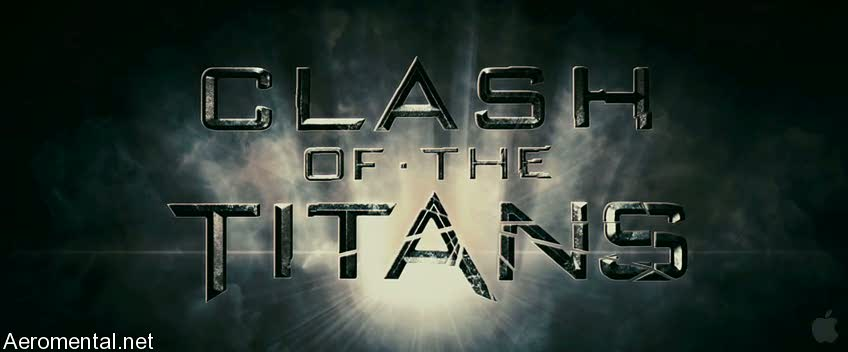 Clash of the Titans title font
