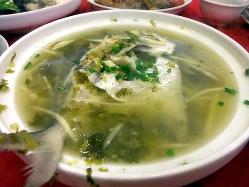 Local Fish boiled in Soup