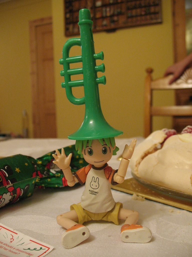 1/6 Yotsuba and the Green Plastic Trumpet 57/365