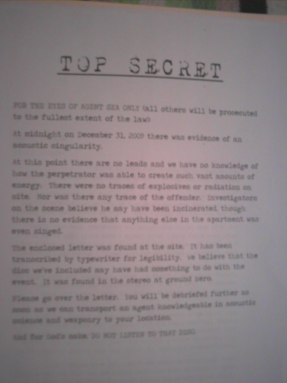 TOP SECRET DOCUMENTS 01