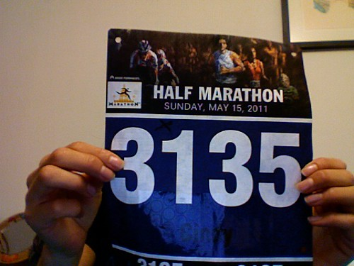 I was stoked to see that my bib number started with a 31