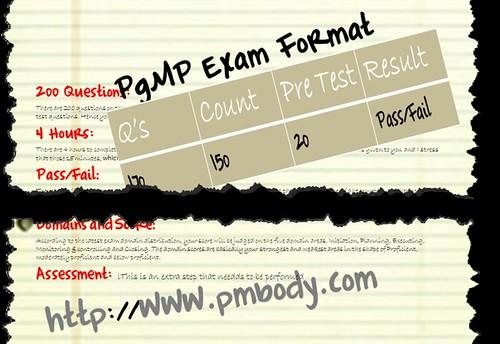 PgMP Exam Format