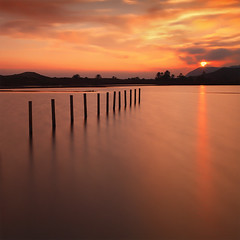 I I I I I I I I I I I I (Sunset) (DavidFrutos) Tags: longexposure sunset bw orange water clouds postes square landscape atardecer interestingness agua smooth paisaje minimal explore murcia filter le lee nubes nd poles 12 minimalism filters minimalismo canondslr naranja palos twelve