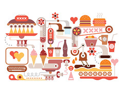 Fast Food Restaurant (danjazzia) Tags: fastfood food drink restaurant vector cocktail coffee icecream soda cola meal heart computer kitchen cup coffeecup cuisine shake milkshake beverage quickservice cafe menu hotdog colddrink sandwich lunch hamburger cheeseburger eatery delicious cateringindustry catering burger flour tea breakfast manufacture cone enjoy junkfood health diet familyrestaurant icetea coffeemachine brew illustration isolated white