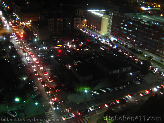 Hoboken Macys Fireworks Reader Photo traffic jam bmacqueens