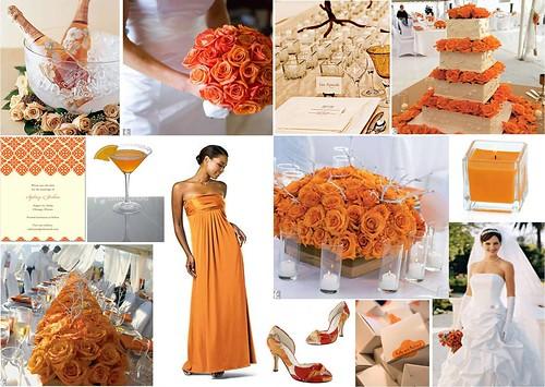3692155790 fa6c1b57e6 Baú de ideias: Decoração de casamento laranja