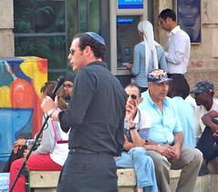 Tenor (jglsongs) Tags: city people israel jerusalem ישראל ירושלים בן yerushalayim יהודה benyehudastreet benyehuda القدس theisraelproject القـُدْس רח