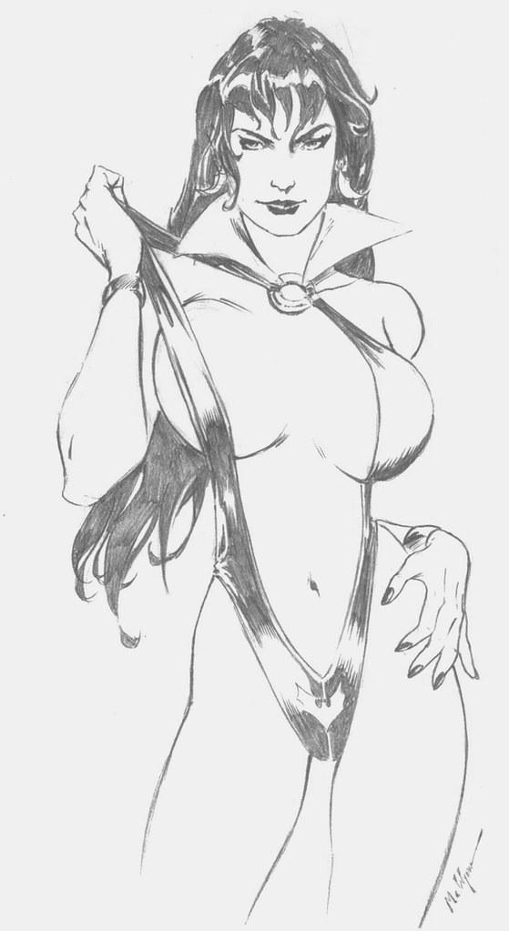 Vampirella (M.C Wyman Rough Stuff #12)