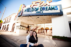 Katie & Anthony engagement shoot in Downtown Fullerton