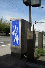 Signal Box Decal (Seattle Department of Transportation) Tags: seattle street art decal signalbox sdot