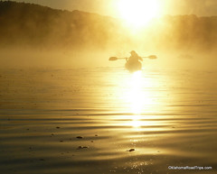 Morning Kayaking on Table Rock Lake (FreeWine) Tags: morning mist silhouette sunrise dawn golden explore missouri kayaking dianne ozarks tablerocklake flatwater flatcreek capefair visionqualitygroup