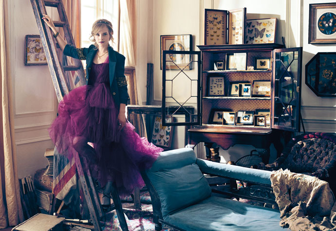 Emma Watson en estudio