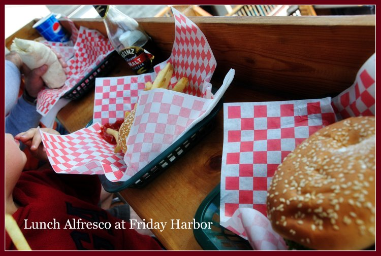 Lunch @ Friday Harbor