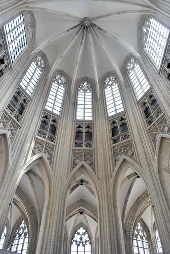 gotisch koor gotic choir sint-pieterskerk Leuven Louvain