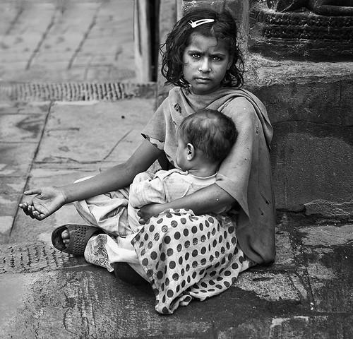 Pidiendo en la Calle (Serie Nepal)