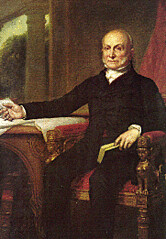 John Quincy Adams Tweeting