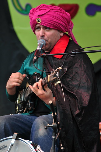 King Khan & BBQ Show at Ottawa Bluesfest 2009