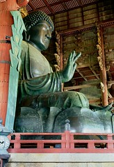 Todaiji temple (h_saarikoski) Tags: japan buddha buddhism daibutsu nara todaiji celestial   amitabha vairocana purelandbuddhism