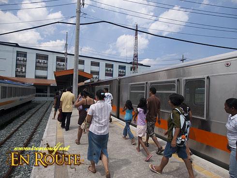 PNR: Passngers alighting at Tutuban Station